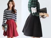 Thời trang - 4 cách để thật quyến rũ với váy midi