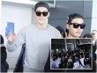 Fan Việt vây kín xe tài tử Kim Woo Bin ở sân bay