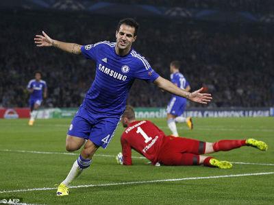 Chelsea - Schalke: Thành bại ở Fabregas - 1