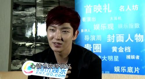 Lee Jun Ki chia sẻ chuyện riêng tư với người hâm mộ - 1