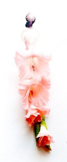 Váy, áo làm từ hoa tươi gây mê hoặc lòng người - 8