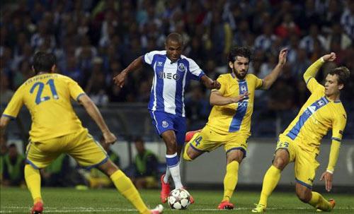 Lần đầu đá Cúp C1, SAO trẻ Porto làm nên kì tích - 1