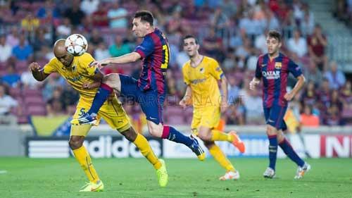 Barca toàn thắng: Chiến công của Enrique – Messi - 2
