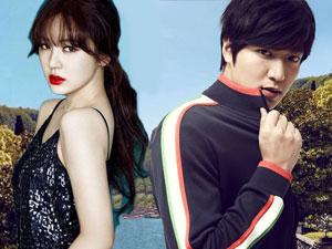 """Lee Min Ho và Yoon Eun Hye khiến fan """"loạn nhịp tim"""""""