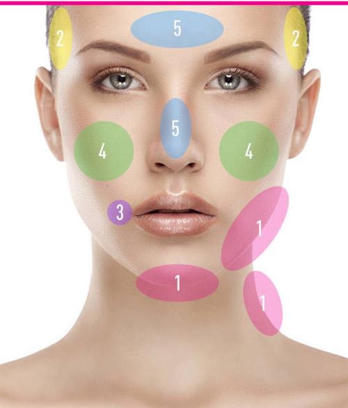 6 vị trí mụn trên mặt nói lên điều gì về cơ thể bạn - 1