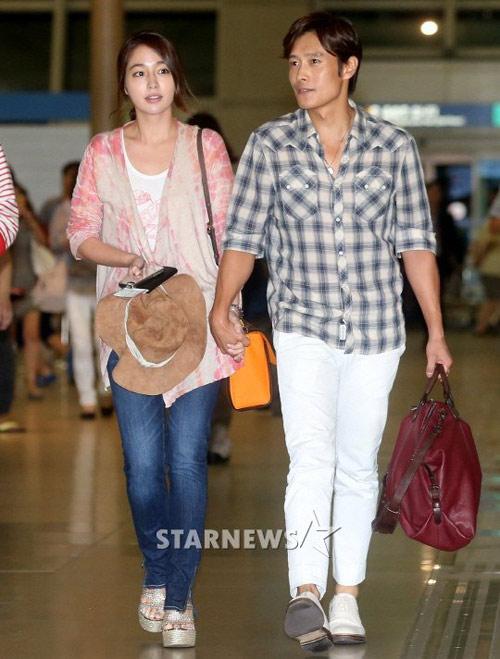 Chồng ngoại tình, vợ Lee Byung Hun bỏ về nhà ngoại - 1