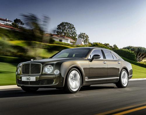 Bentley Mulsanne Speed: Sang trọng và mạnh mẽ - 2