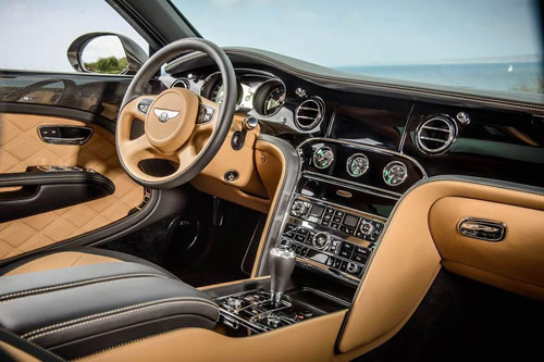 Bentley Mulsanne Speed: Sang trọng và mạnh mẽ - 6