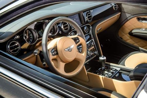 Bentley Mulsanne Speed: Sang trọng và mạnh mẽ - 7