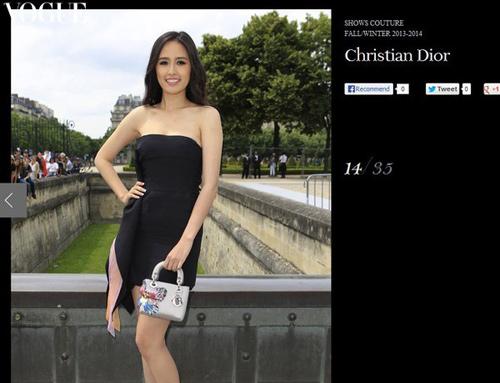 Dấu ấn của sao Việt tại tuần lễ thời trang thế giới - 18