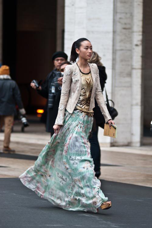 Dấu ấn của sao Việt tại tuần lễ thời trang thế giới - 6