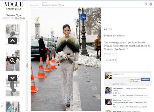Dấu ấn của sao Việt tại tuần lễ thời trang thế giới - 14