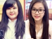 Bạn trẻ - Cuộc sống - Nữ sinh trường báo siêu xinh nhờ giảm 30kg