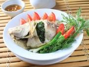 Ẩm thực - Cá diêu hồng nhồi thịt hấp tương xí muội