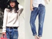 15 tâm sự thật của đàn ông về chiếc quần jeans rộng