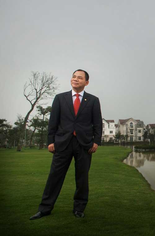 Tỷ phú Phạm Nhật Vượng thăng hạng trên Forbes - 1