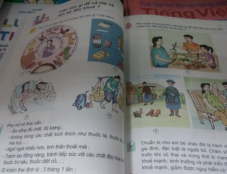 Dạy trẻ lớp 5 về phụ nữ có thai là nhân văn! - 1