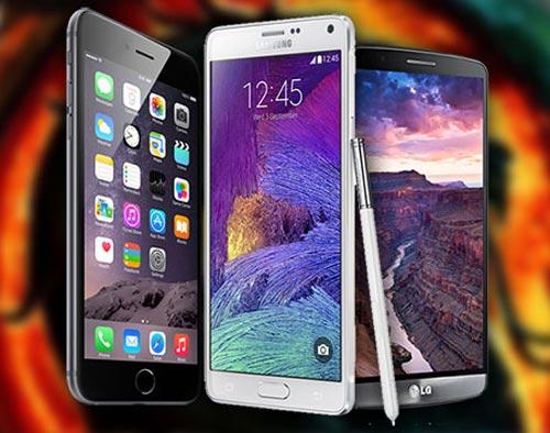 """Hàng """"khủng"""" iPhone 6 Plus, Galaxy Note 4 và LG G3 so tài - 2"""