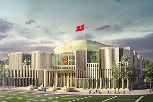 """Tháng 10, Quốc hội sẽ họp tại """"nhà mới"""" - 1"""