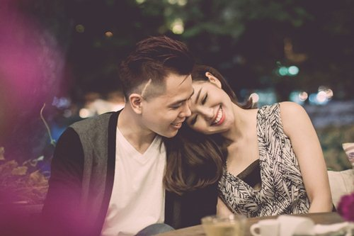 Tâm Tít thân mật cùng Trịnh Thăng Bình - 2