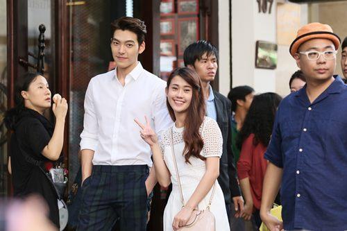"Ngọc Thảo ""nhỏ bé"" bên Kim Woo Bin - 2"