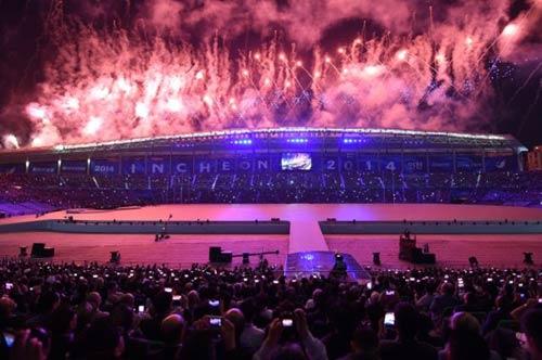 Lễ khai mạc ASIAD 17: Tuyệt diệu Incheon - 4