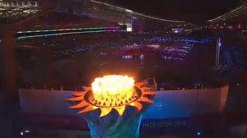 Lễ khai mạc ASIAD 17: Tuyệt diệu Incheon - 11