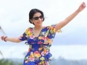 Phim - Trương Thị May tung tăng dạo chơi trên biển