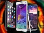"""Thời trang Hi-tech - Hàng """"khủng"""" iPhone 6 Plus, Galaxy Note 4 và LG G3 so tài"""