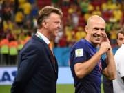 Bóng đá - Robben tin MU sẽ trở lại C1 vào năm sau