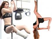 Thể dục thẩm mỹ - Những pha thót tim của các người đẹp múa cột