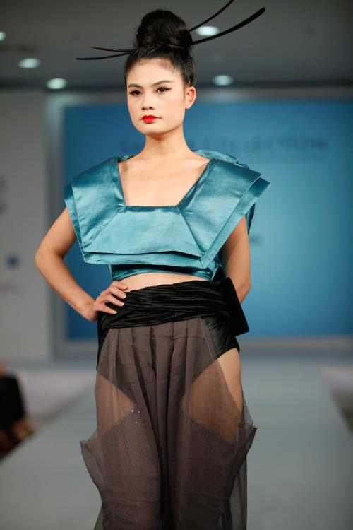 Thời trang Nhật cách tân táo bạo trên sàn diễn Việt - 3