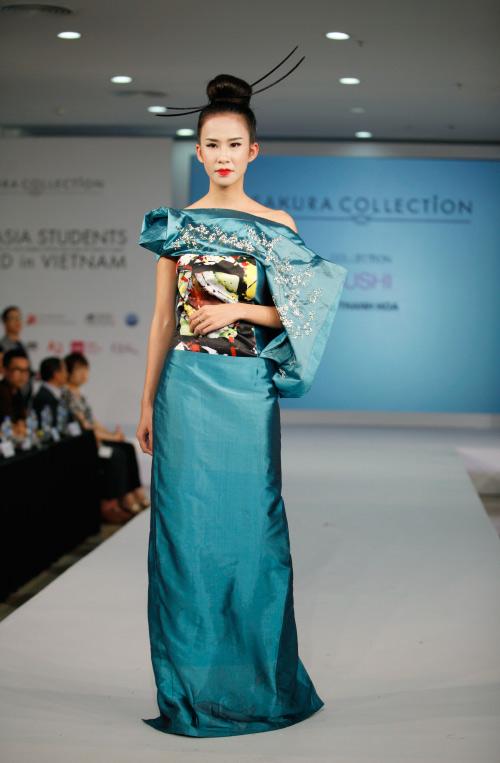 Thời trang Nhật cách tân táo bạo trên sàn diễn Việt - 13