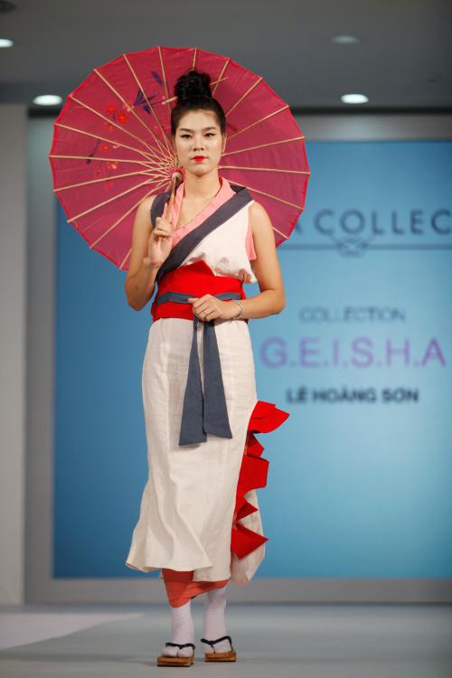 Thời trang Nhật cách tân táo bạo trên sàn diễn Việt - 15