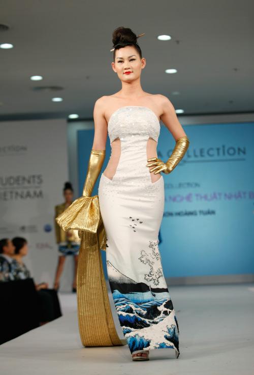 Thời trang Nhật cách tân táo bạo trên sàn diễn Việt - 11