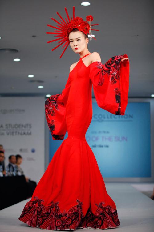 Thời trang Nhật cách tân táo bạo trên sàn diễn Việt - 17