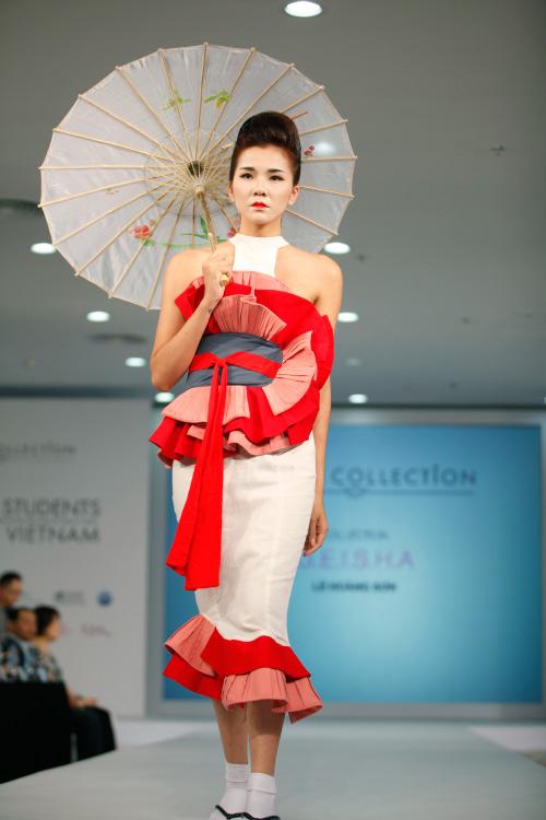 Thời trang Nhật cách tân táo bạo trên sàn diễn Việt - 14