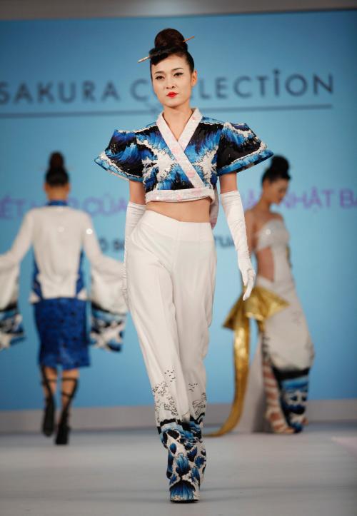 Thời trang Nhật cách tân táo bạo trên sàn diễn Việt - 10