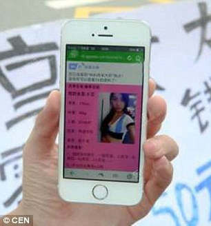 Lộ diện cô gái bị người yêu cho thuê để mua Iphone 6 - 5