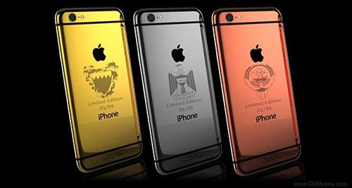 iPhone 6 và 6 Plus mạ vàng giá 100 triệu đồng - 2