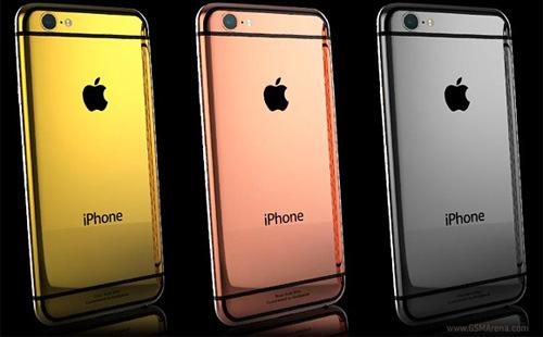 iPhone 6 và 6 Plus mạ vàng giá 100 triệu đồng - 1