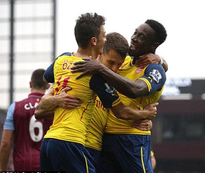 TRỰC TIẾP A.Villa - Arsenal: Chủ nhà buông xuôi (KT) - 6
