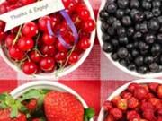 Sức khỏe đời sống - Top 10 loại trái cây hàng đầu chống ung thư