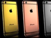 Thời trang Hi-tech - iPhone 6 và 6 Plus mạ vàng giá 100 triệu đồng