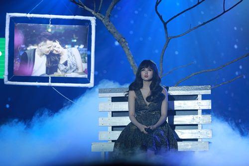 Trịnh Thăng Bình đốt hình tình tứ với Tâm Tít trên sân khấu - 1
