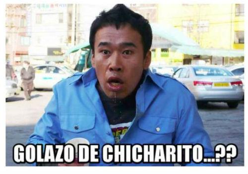 """Ảnh chế: Lập hai siêu phẩm, Chicharito """"lên hương"""" - 3"""