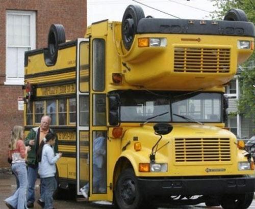 Những ý tưởng siêu độc trên xe bus - 9