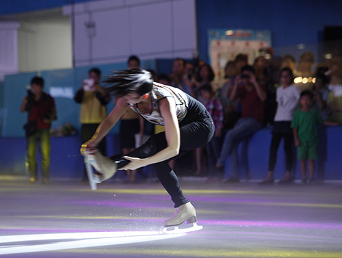 Nữ hoàng trượt băng thế giới biểu diễn tại VN - 3