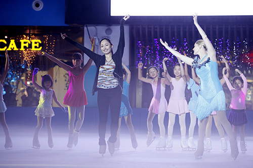 Nữ hoàng trượt băng thế giới biểu diễn tại VN - 5