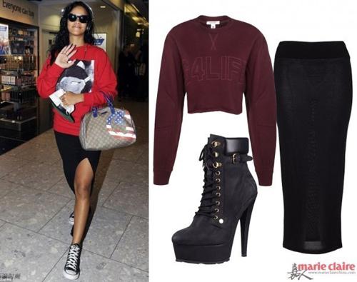 Học Rihanna khoe đường cong mùa lạnh - 1